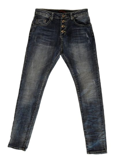 Denim Jeans med Slid